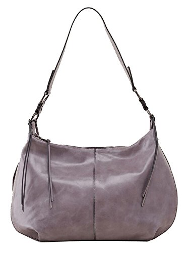Hobo Handbags Vintage Leather Lennox Hobo – Granite