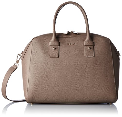Furla Allegra M Satchel deer colour