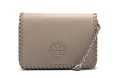 Tory Burch Marion Combo Crossbody in French Gray