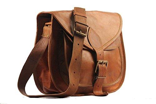 Handolederco Leather Purse Designer Crossbody Shoulder Bag Travel Satchel Women Handbag Ipad Bag