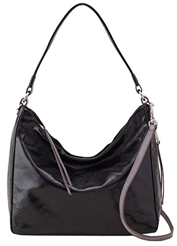 Hobo Handbags Vintage Leather Delilah – Black