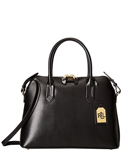 Lauren Ralph Lauren Tate Dome Leather Satchel