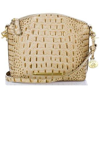 Brahmin Mini Duxbury Shoulder Bag Champagne