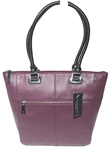 Tignanello Perfect Pockets Tote, Chianti/Black, T12289