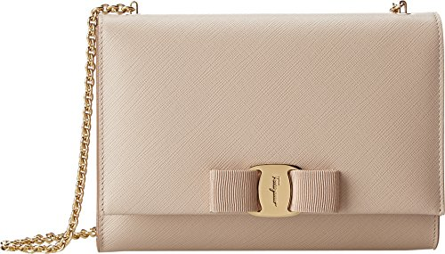 Salvatore Ferragamo Women's B558 Miss Vara Mini Bag New Bisque Cross Body