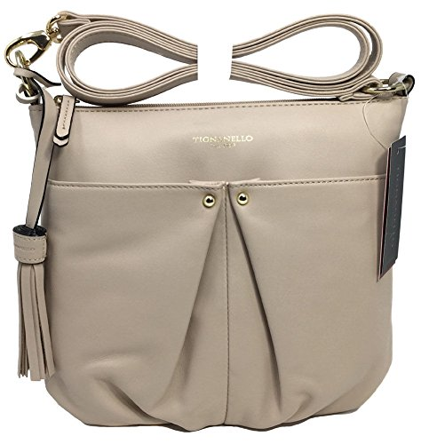 Tignanello Pretty Pleats Cross Body, Sand, T56410A