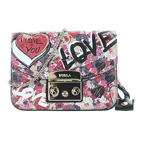 Furla Metropolis Mini Crossbody Graffiti