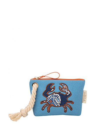 Spartina 449 Boheme Beach Rope Wristlet, Blue
