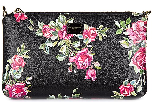 Dolce&Gabbana women's clutch handbag bag purse newblack
