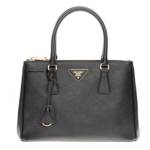 Prada Women's Saffiano Handbag 1ba863nzvf0002, Black, One Size