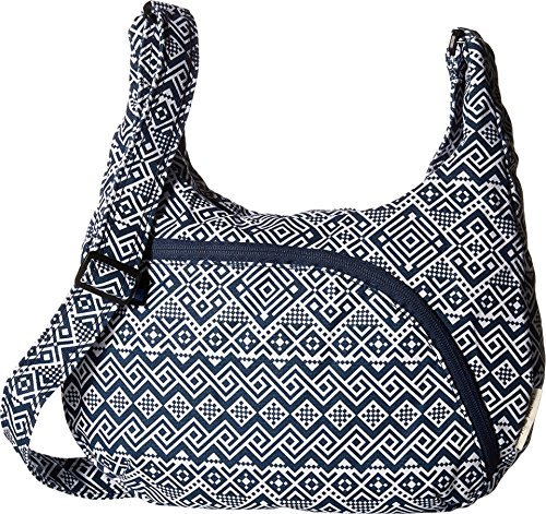 KAVU Women's Sydney Satchel Navy Quilt Cross Body