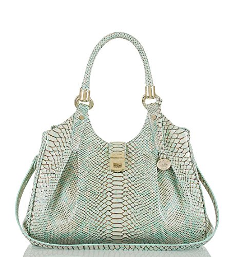 Brahmin Women's Elisa Opal Seville Leather bag I54718OF