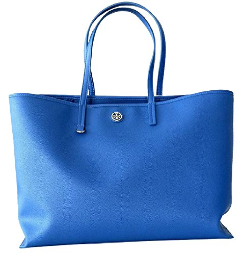 Tory Burch Cameron Tote Shopping bag Purse Macaw Blue