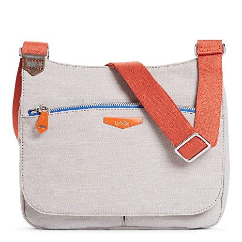 Kipling Women's Kaeon Saddle Handbag One Size Beige
