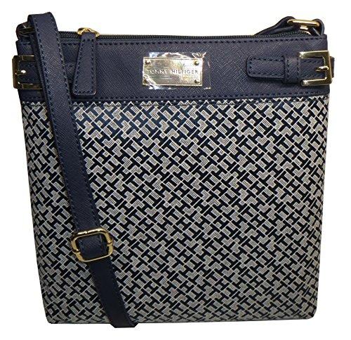 Tommy Hilfiger Woman X Crossbody Bag Canvas Navy