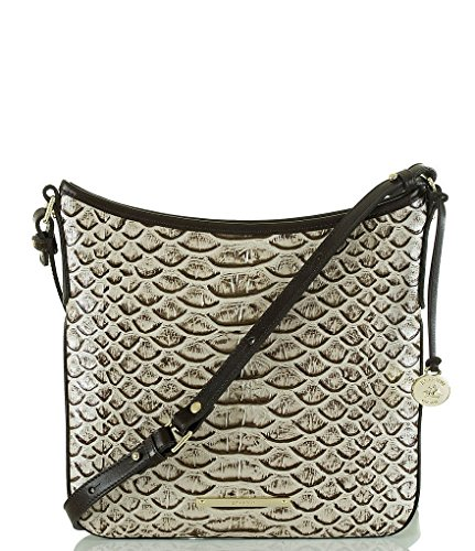 Brahmin Dogwood Collection Jody Cross-Body Bag Pearl New