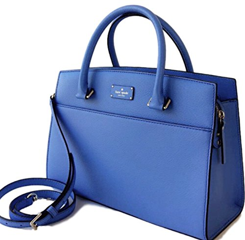 Kate Spade Grove Street Caley Satchel Leather Bag Alice Blue