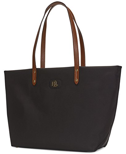 Lauren Ralph Lauren Womens Bainbridge Tote (Black)