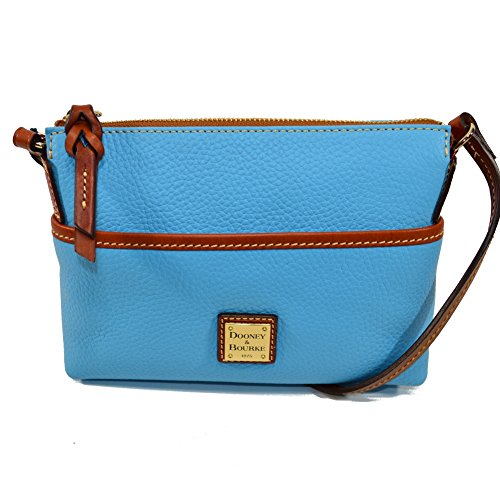 Dooney & Bourke Ginger Pouchette Crossbody Sky Blue