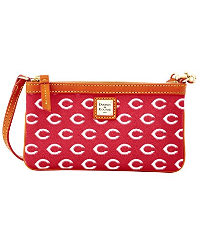 Dooney & Bourke Cincinnati Reds Mlb Large Wristlet