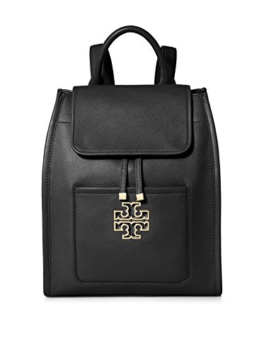 Tory Burch Britten Backpack in Black