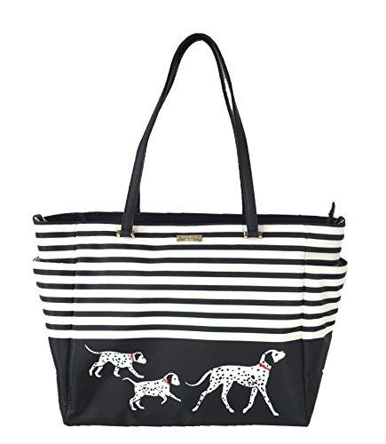Kate Spade Dalmatian Baby Tote Bag, Black/ White