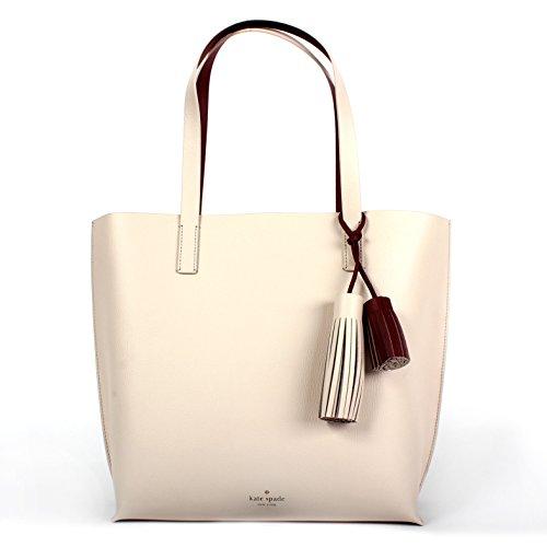 Kate Spade New York Foster Court Tasha Pebbled Leather Tote Bag (Pebble/trred )