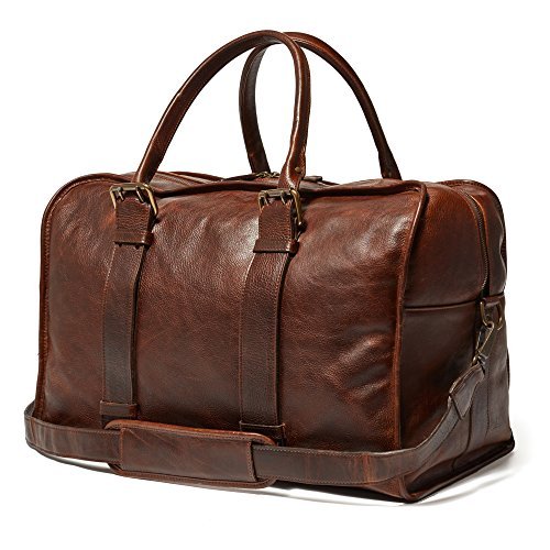 Moore & Giles Cope Duffle Titan Milled Brown