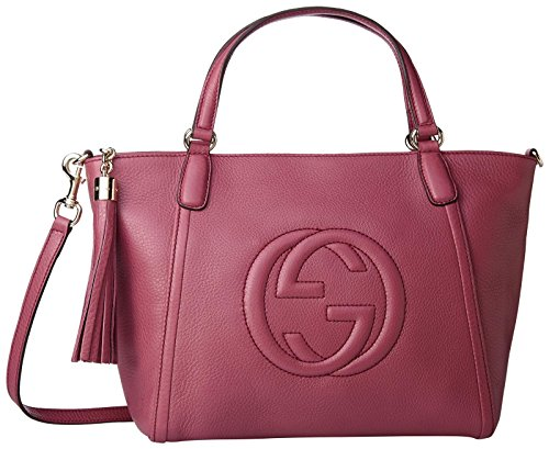 Gucci Women's Top Handle Bag 369176a7m0g5535, Pink, One Size