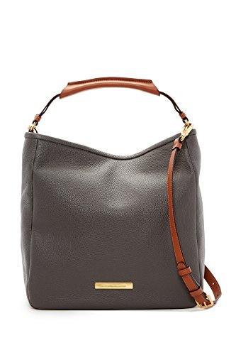 Marc by Marc Jacobs Softy Leather Saddle Hobo Bag, Faded Aluminium