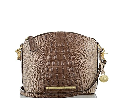 Brahmin Mini Duxbury Amaretto Crossbody Bag