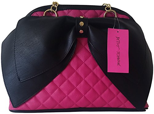 Betsey Johnson Dome Satchel with Bow – BM18035