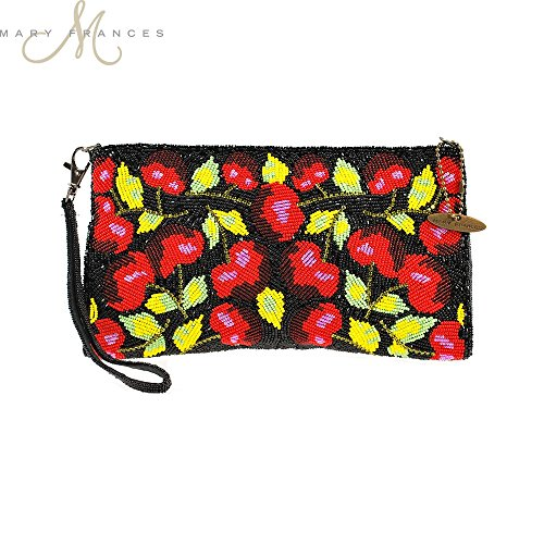 Mary Frances Cherry Harvest Mini Handbag