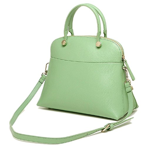 Furla Piper Dome Mint Green Menta Purse
