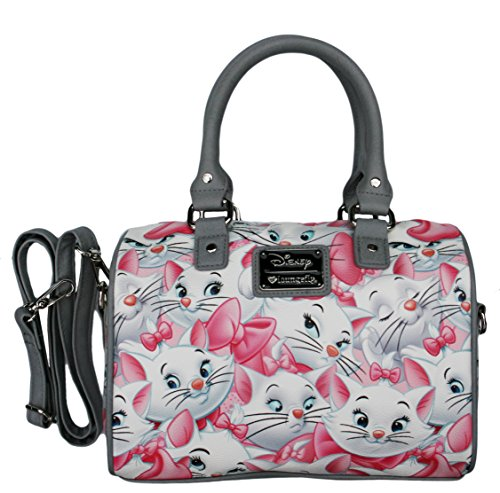 Disney Marie Aristocats Classic Print Pebble Cross-body Satchel Bag