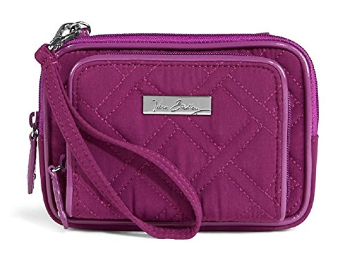 Vera Bradley On the Square Wristlet 2.0 in Plum/Purple