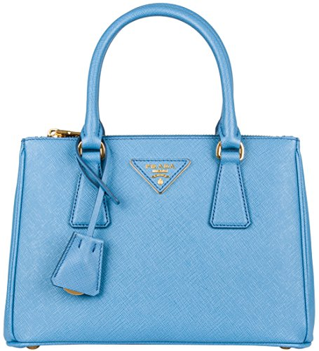 Prada Saffiano Galleria Bag – Sea Blue