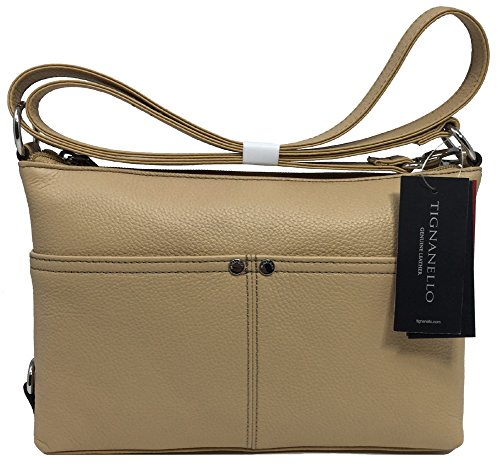 Tignanello Heritage E/W Cross Body W/RFID Protection, Dune/Dune, T60005