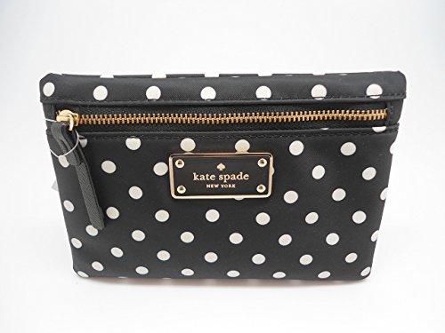 Kate Spade New York Blake Avenue Small Drewe Clutch Handbag Purse (Diamond Dot)