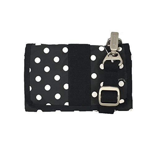 LeSportsac Essential Hands Free Wallet Crossbody, Sunshine Dot Black