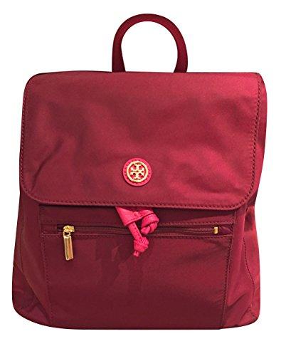 Tory Burch Nylon Flap Backpack