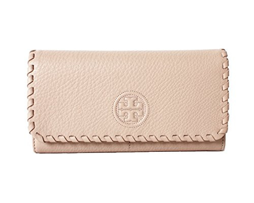 Tory Burch Marion Envelope Continental Wallet Light Oak