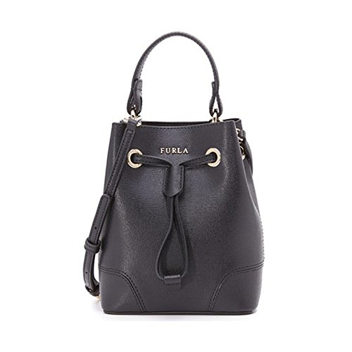 Furla Stacy Mini Drawstring-Onyx