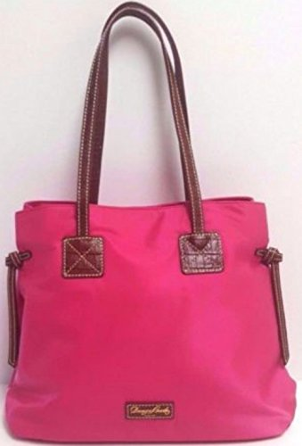 Dooney & Bourke Shopper with Pouch Fuchsia