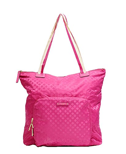 Kate Spade New York 'Bon Voyage' Rosemary Packable Tote, Snapdragon Pink