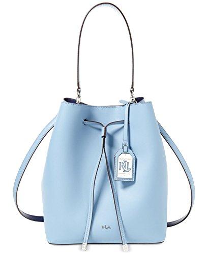 LAUREN Ralph Lauren Dryden Debby Drawstring Blue Mist/Marine Drawstring Handbags