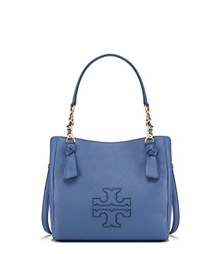 Tory Burch Harper Small Satchel – Wallis Blue