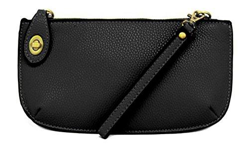 Joy Accessories Women's Mini Crossbody Wristlet Clutch Cricket Synthetic Handbags