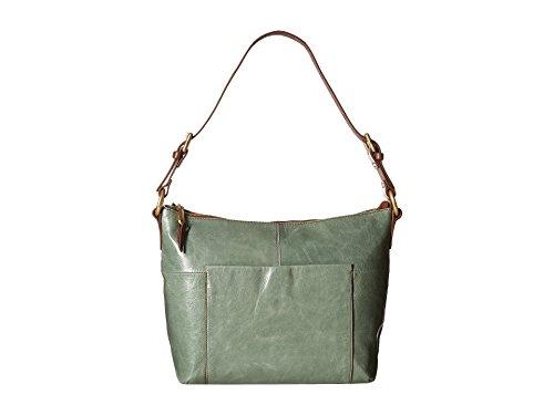Hobo Handbags Vintage Leather Charlie Shoulder Bag – Bottle Grn