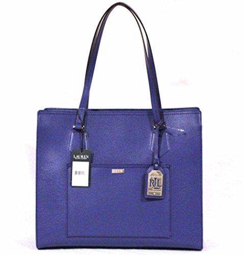 Ralph Lauren Lowell Tote Iris Blue